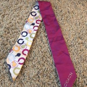 Coach purse scarf
